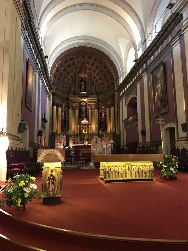 Altar da Catedral Matropolitana de Montevidéu