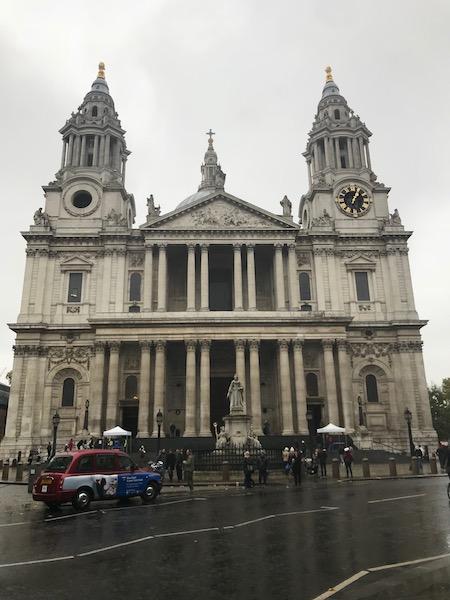 Ponto turístico em Londres: St Paul's Cathedral