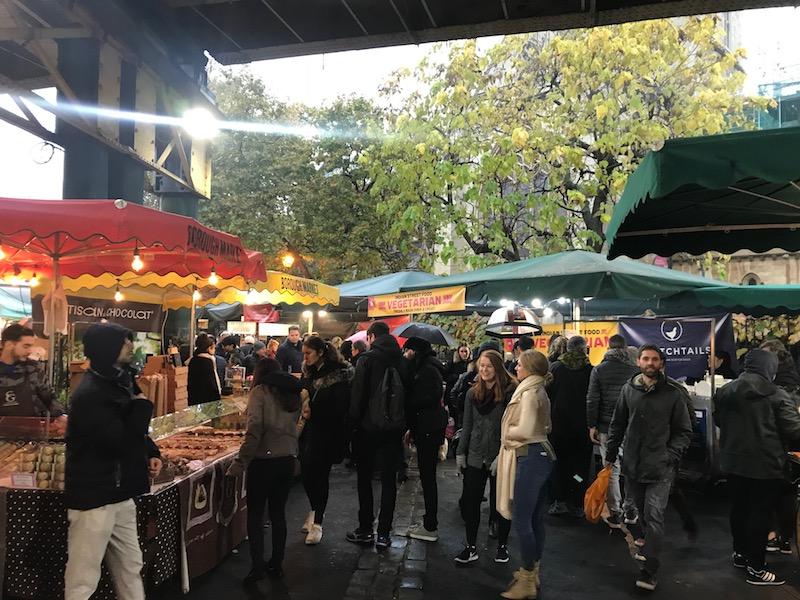 Mercados ao ar livre em Londres